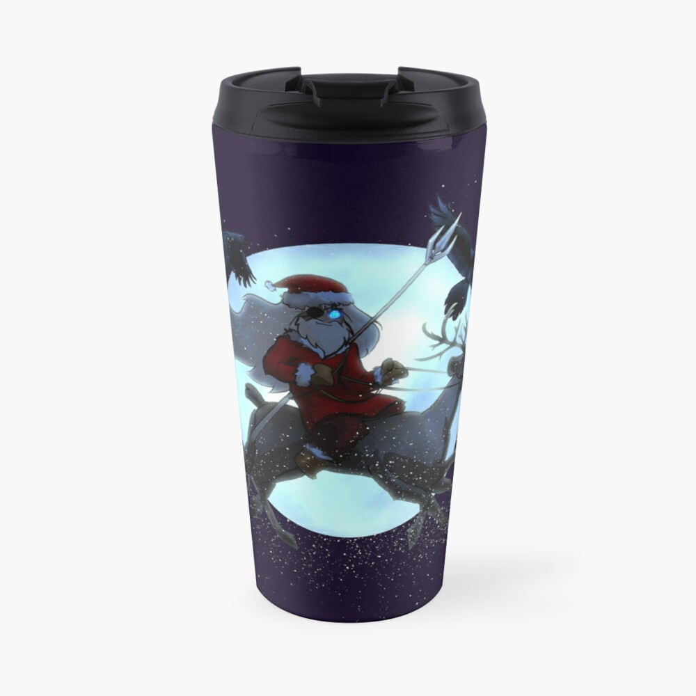 Odin Claus (DARK) Travel Mug