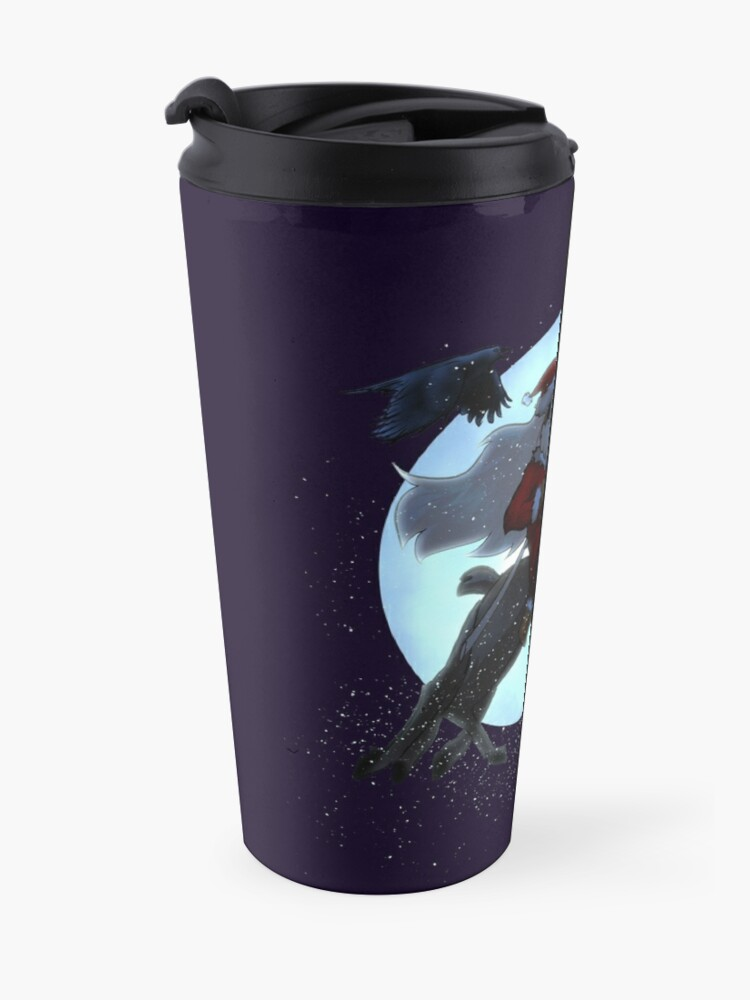 Alternate view of Odin Claus (DARK) Travel Mug