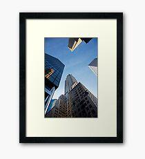 New York City Skyline Empire State Building Framed Print