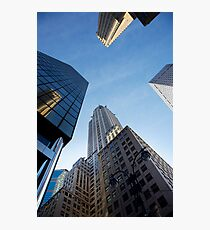 New York City Skyline Empire State Building Photographic Print