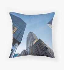 New York City Skyline Empire State Building Throw Pillow