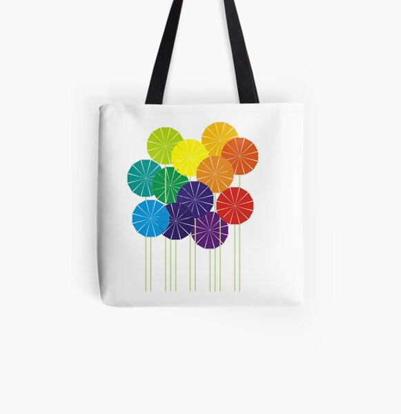 Garden Of Inspiration All Over Print Tote Bag