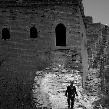 Great walk on the wall - Sematai Great Wall of China by crowdedstudios