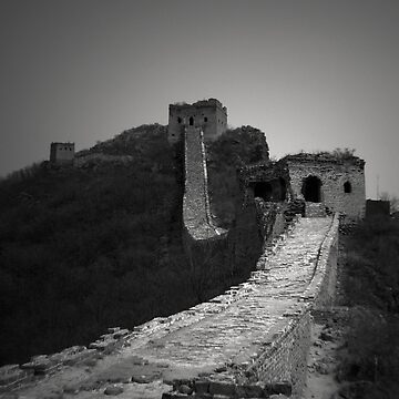 The Watch Towers - Great Wall, Sematai by crowdedstudios