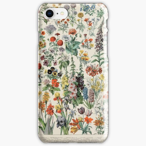 Adolphe Millot fleurs A iPhone Snap Case