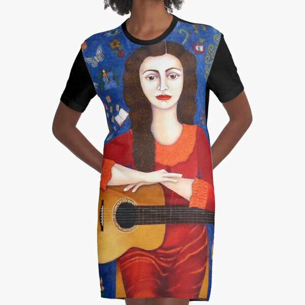 Thanks to Life Graphic T-Shirt Dress