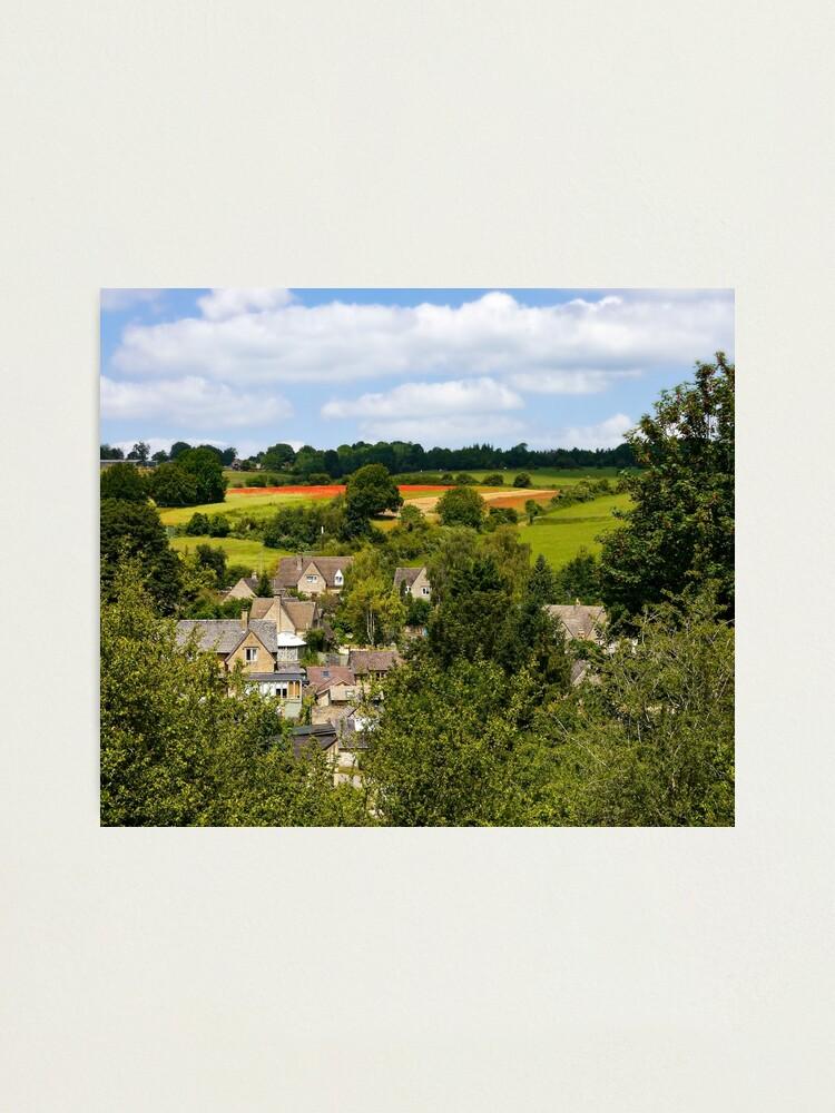 Alternate view of Naunton village Photographic Print