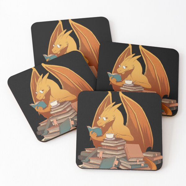 The Librarian's Horde Coasters (Set of 4)