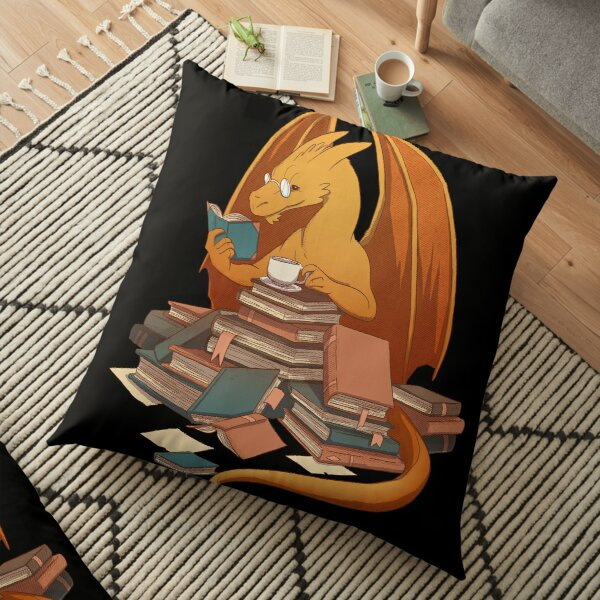 The Librarian's Horde Floor Pillow