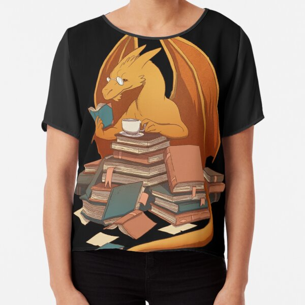 The Librarian's Horde Chiffon Top