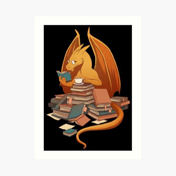 The Librarian's Horde Art Print