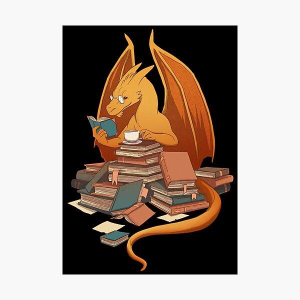 Die Horde des Bibliothekars Fotodruck