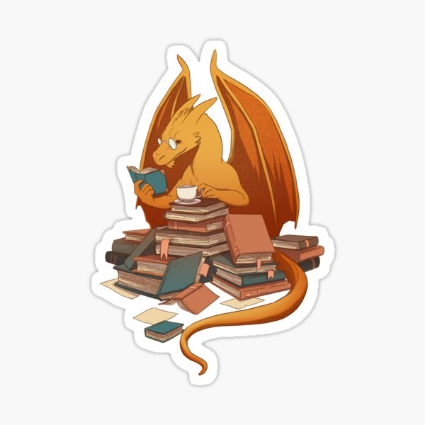 The Librarian's Horde Sticker