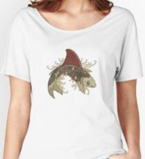 koi shark fin 03 Women's Relaxed Fit T-Shirt