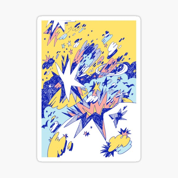 World 17 Sticker