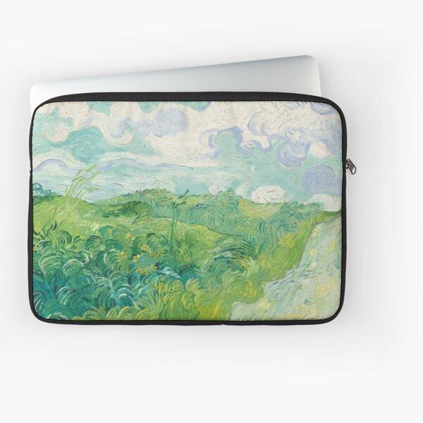 Green Wheat Fields - Van Gough Laptop Sleeve