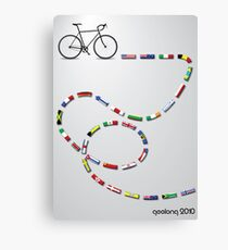 Ride Around The World Canvas Print