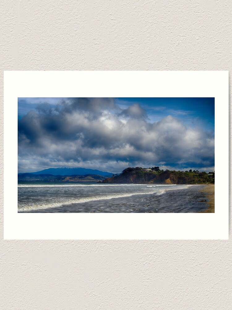 Alternate view of Carlton Beach Art Print