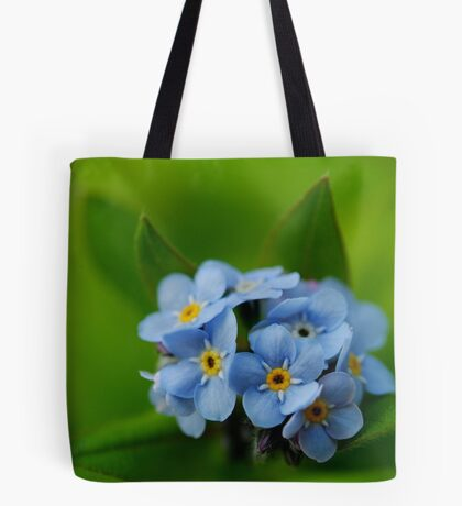 Soft and Blue Tote Bag