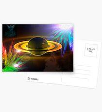 Universal Axle (Artwork by Gail Bridger) Postcards