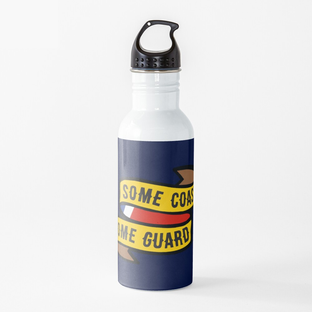 Some Coast, Some Guard Water Bottle