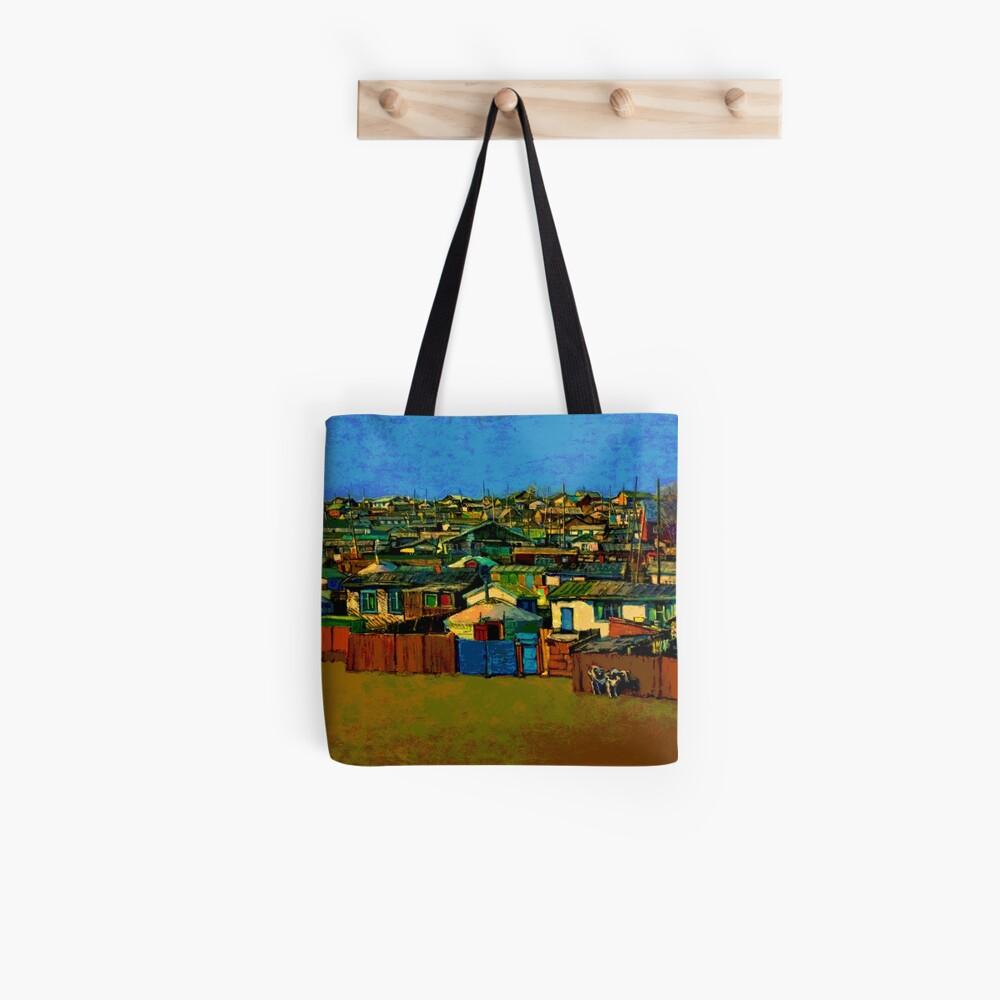 Städtische Jurte Stofftasche