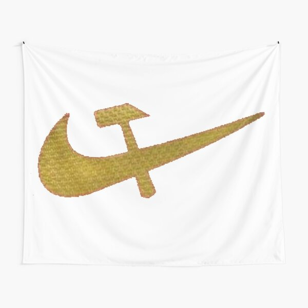 Stylized #Hammer and #Sickle Symbol #☭ #HammerAndSickle Tapestry