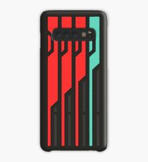 Allagan Tomestone of Poetics *NOW WITH A THICKER BORDER* Case/Skin for Samsung Galaxy