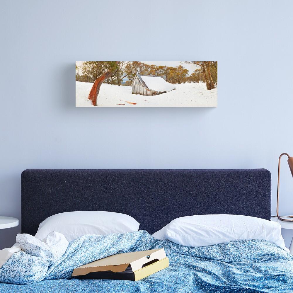 Snowed In, Wallace Hut, Falls Creek, Victoria, Australia Canvas Print