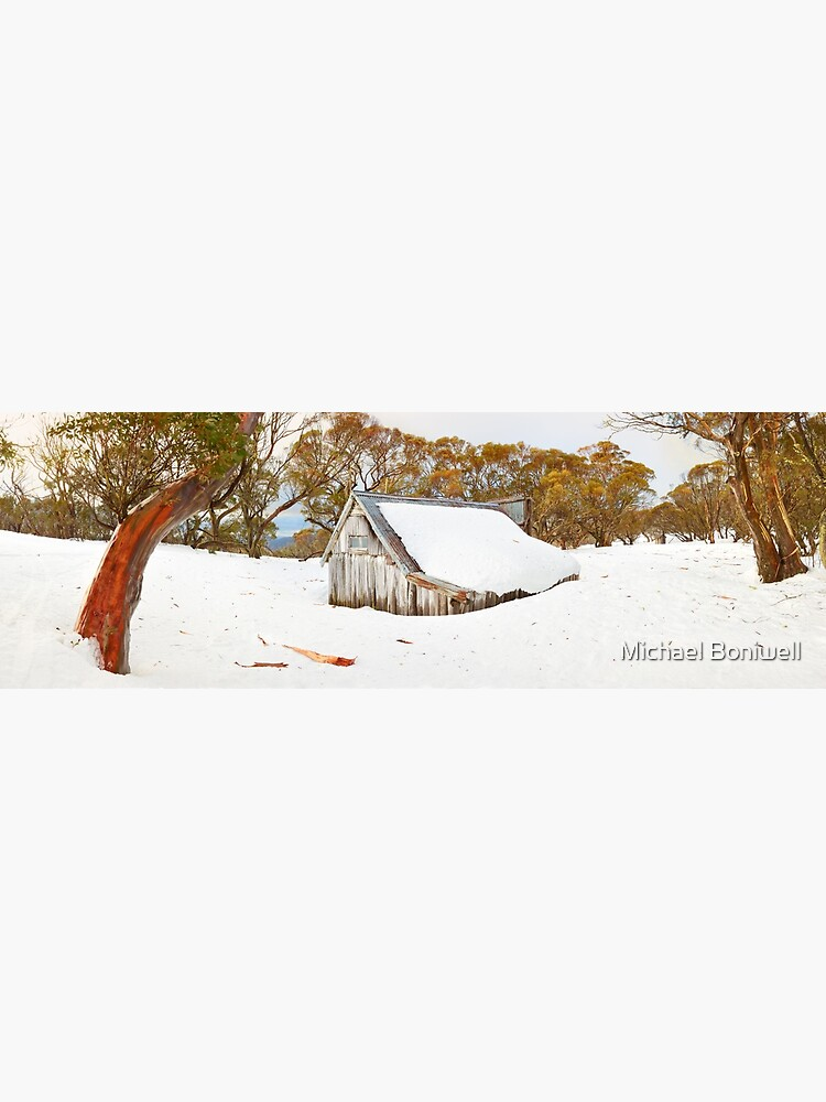 Snowed In, Wallace Hut, Falls Creek, Victoria, Australia by Chockstone
