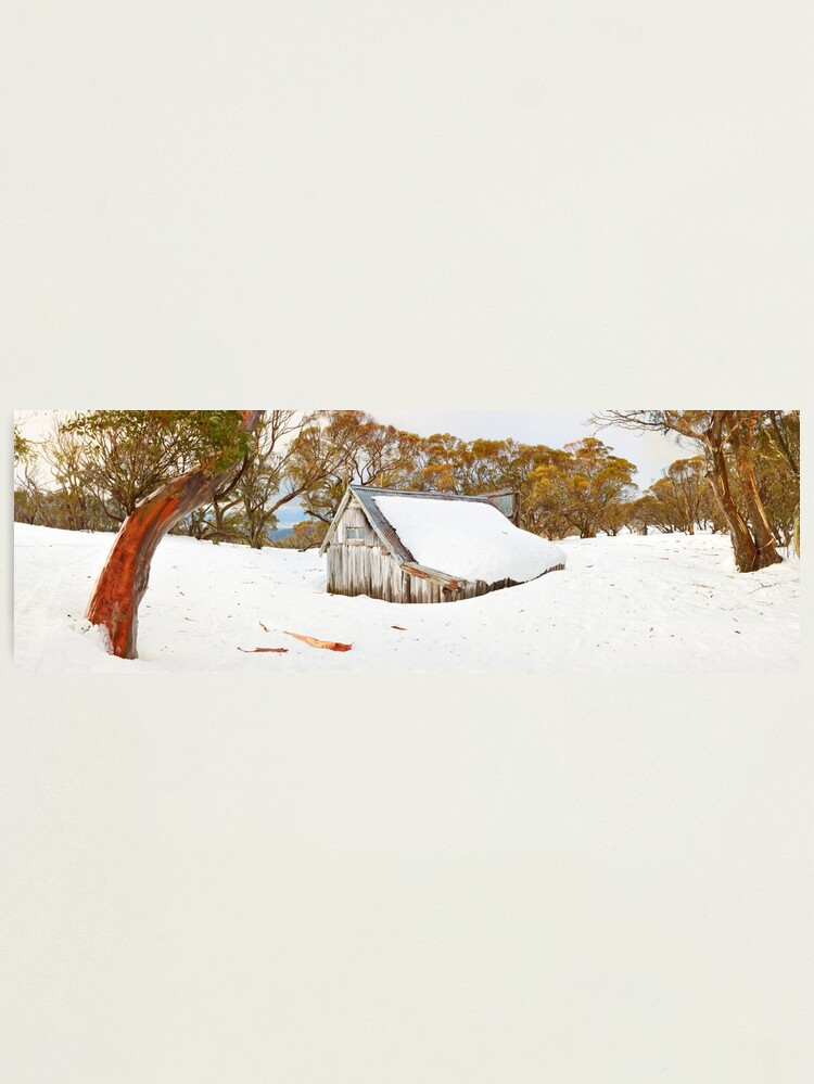 Alternate view of Snowed In, Wallace Hut, Falls Creek, Victoria, Australia Photographic Print