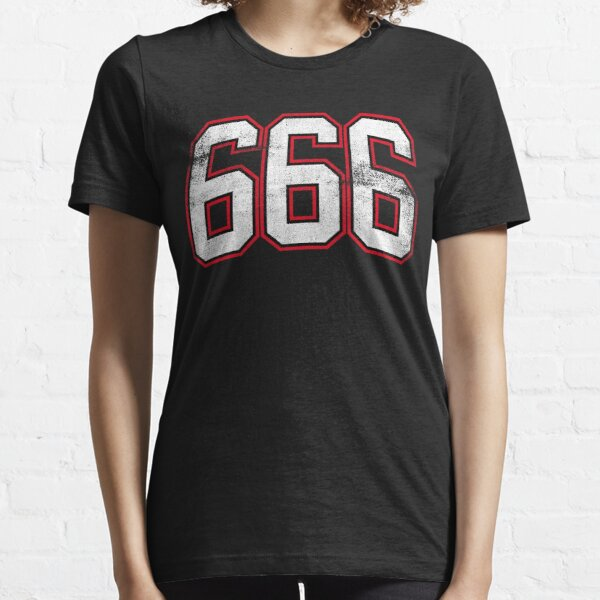 666 The Number of The Beast Essential T-Shirt