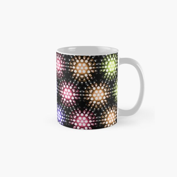 lights - rainbow two Classic Mug