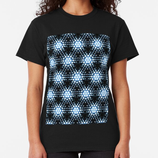 Lights - blue Classic T-Shirt