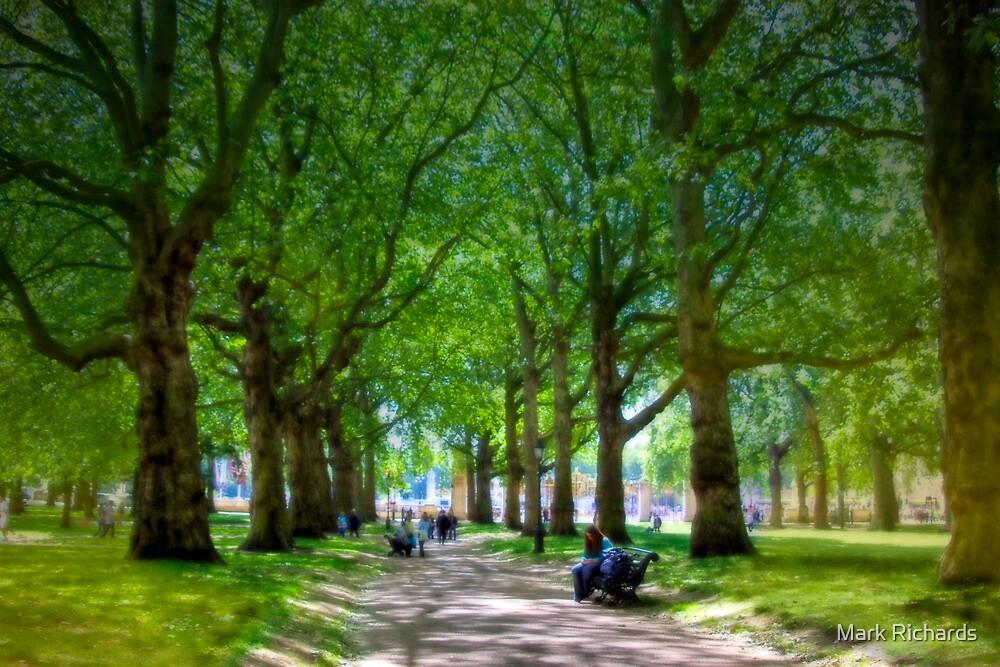 The Park - Buckingham Palace, London, United Kingdom by Mark Richards