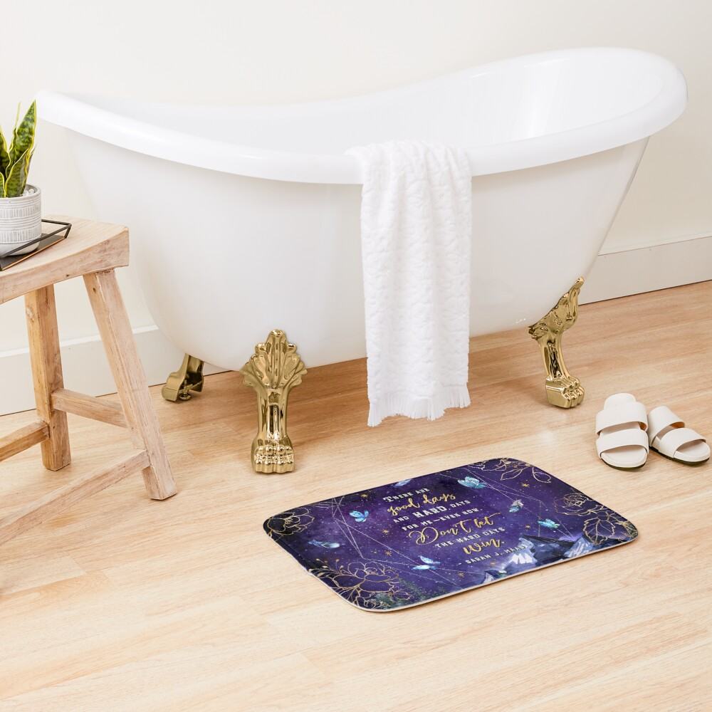 There are good days Bath Mat