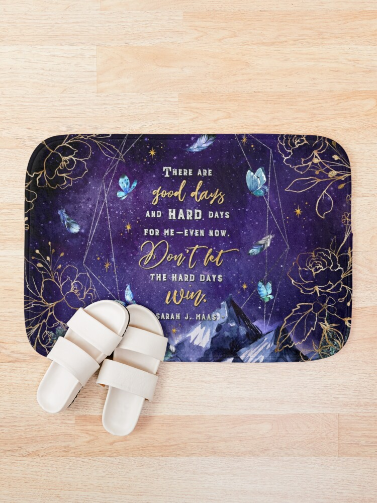 Alternate view of There are good days Bath Mat