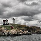 Cape Neddick Lighthouse by Monnie Ryan