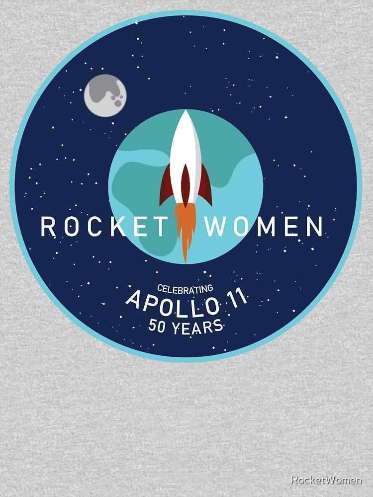 Rocket Women - Apollo 11 50th Anniversary Logo by RocketWomen