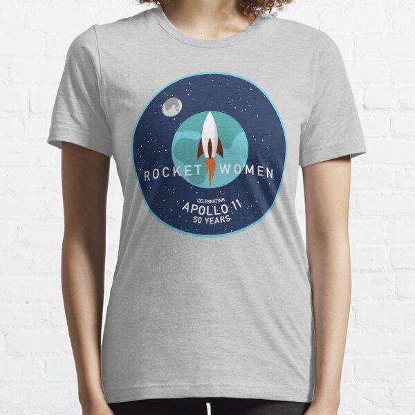 Rocket Women - Apollo 11 50th Anniversary Logo Essential T-Shirt