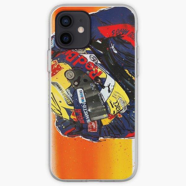 Max Verstappen - 2019 F1 graffiti painting by DRAutoArt iPhone Soft Case