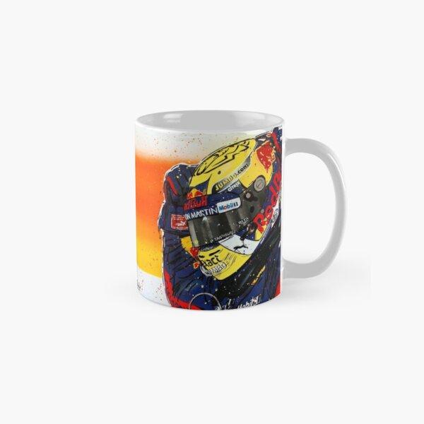 Max Verstappen - 2019 F1 graffiti painting by DRAutoArt Classic Mug