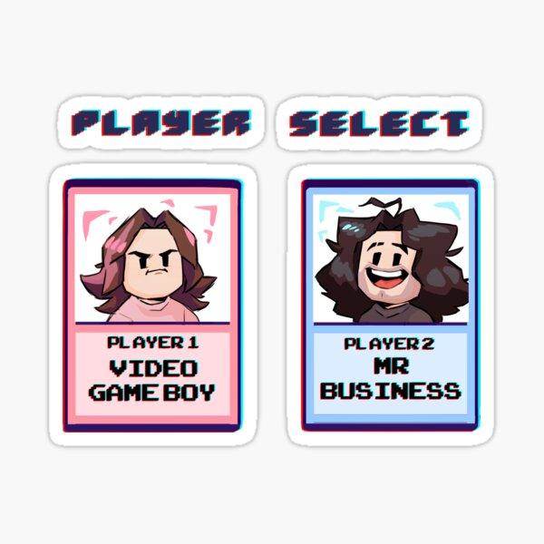 GameGrumps! Player Select!  Sticker