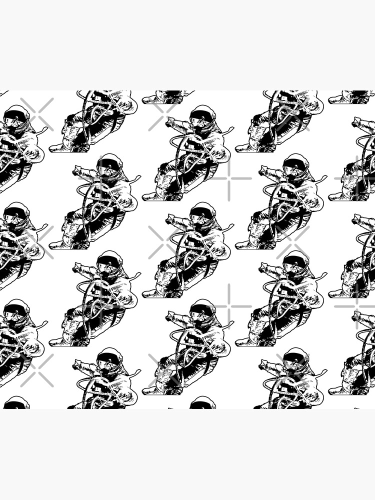 Astronaut Spacewalking by tribbledesign