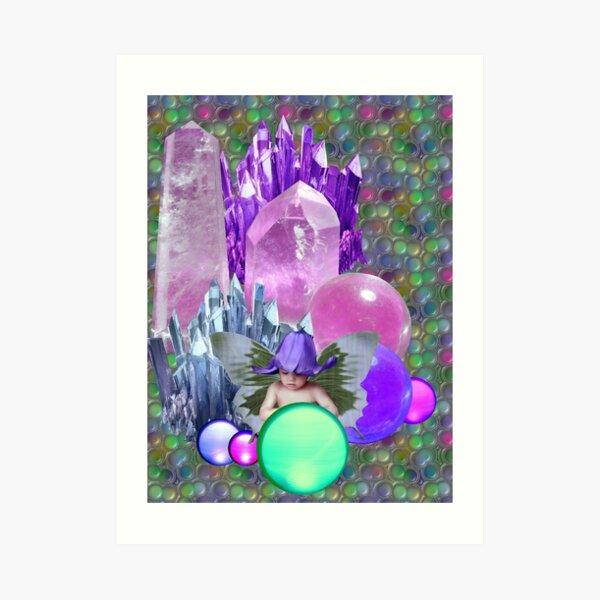 Crystal PlayPen Art Print