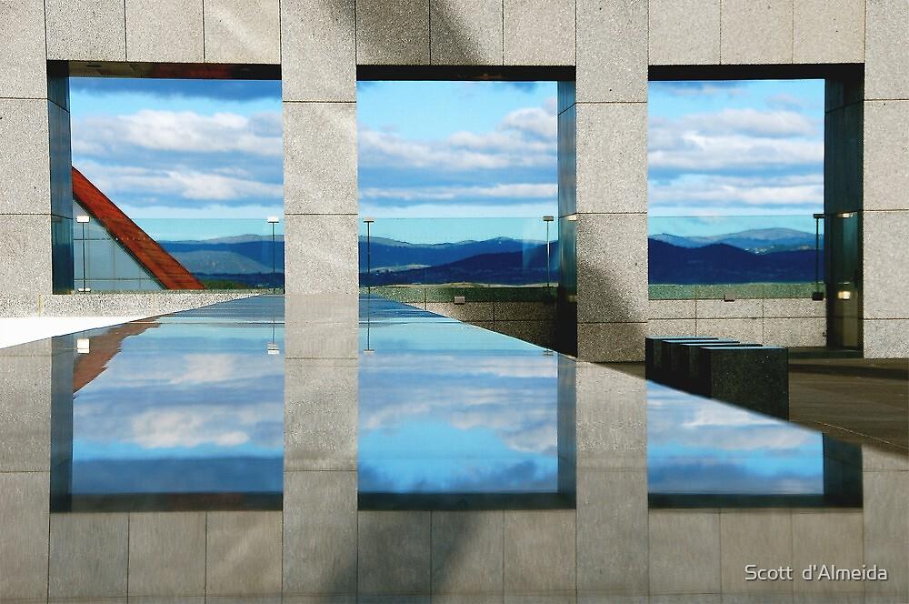 WINDOWS  ILLUSION by Scott  d'Almeida