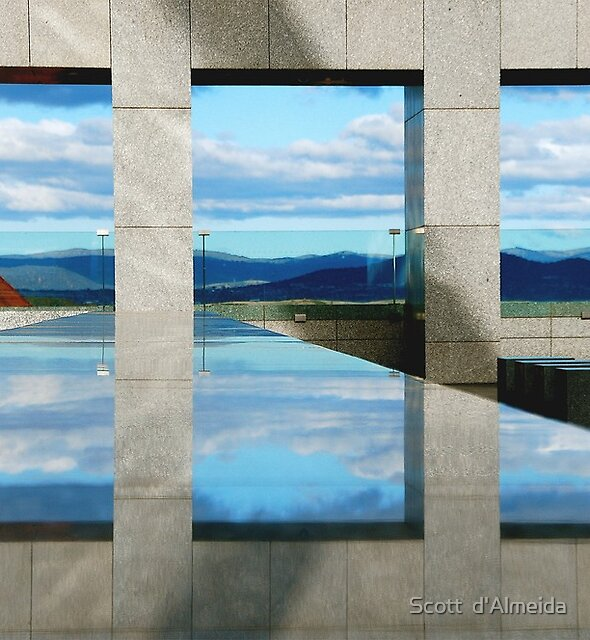 WINDOWS  ILLUSION by Scott  d'Almeida
