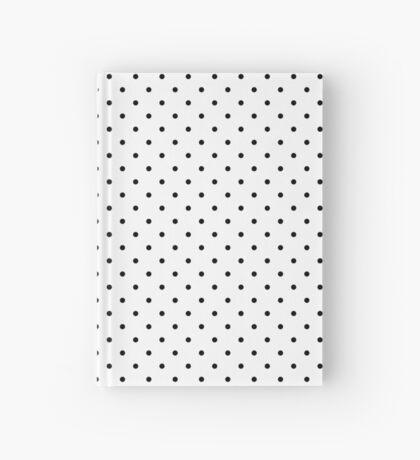 Blanco punteado Cuaderno de tapa dura