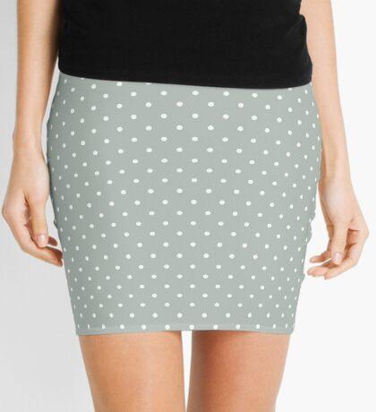 Ceniza punteada Minifalda