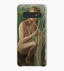 Young Pan Catches Syrinx Case/Skin for Samsung Galaxy